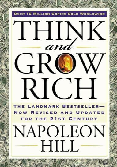 4. 'Piensa y conviértete en rico: el best-seller de Landmark, revisado y actualizado al siglo XXI', de Napoleon Hill y Arthur Pell