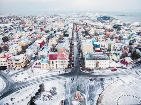 43. Reykjavik, Iceland