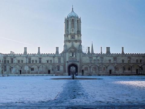 5. University of Oxford, UK — 96.8