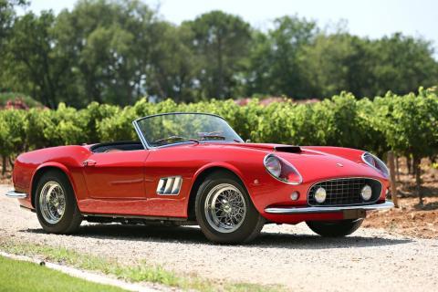 6. 1961 Ferrari 250 GT SWB California Spyder