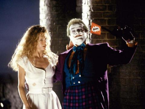 "6. Jack Nicholson as The Joker in ""Batman"" (1989)"