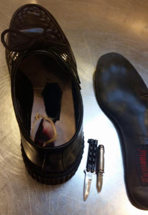 6. Shoe knives