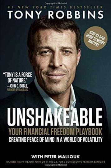6. 'Inquebrantable: Tu libro de jugadas para la libertad financiera', de Tony Robbins