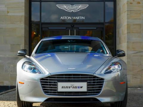 7. Aston Martin RapidE