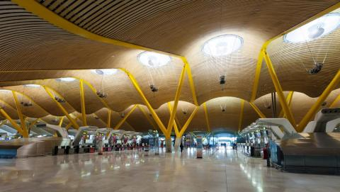 9. Adolfo Suárez Madrid–Barajas Airport (Spain)— Unique architecture