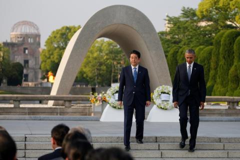 9. A historic meeting in Hiroshima