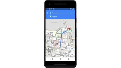 Android P geolocalización en interiores