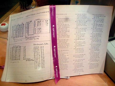 El Apple I fue un invento de Wozniak, quien también construyó a mano cada kit. Debajo, se puede ver sus diagramas diseñados a mano para el Apple I.