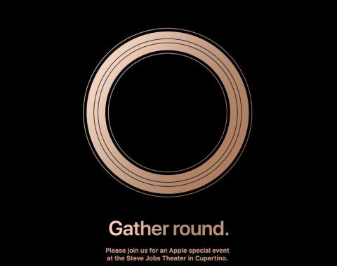 Apple sent invites to journalists and others for an event on its campus on September 12.
