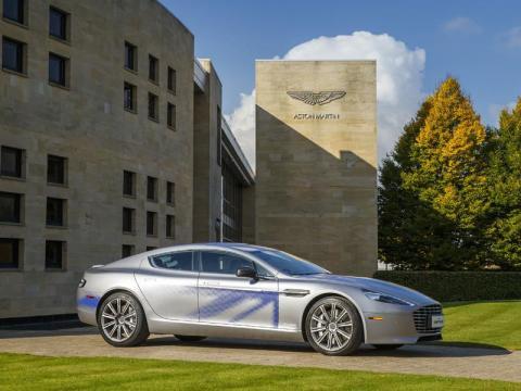 Aston Martin says the car will outdo Tesla.