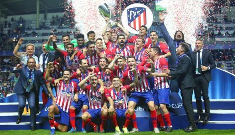 Atletico de Madrid Supercopa de Europa
