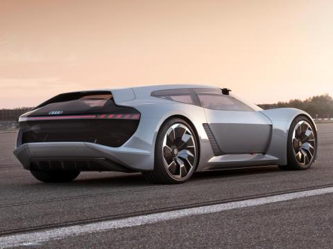 Audi just gave us a look at its 764 horsepower electric sports car of the future and it's absolutely dazzling