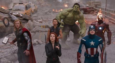 "5. ""The Avengers"" (2012)"
