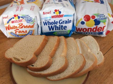 Bad bread grows mold.