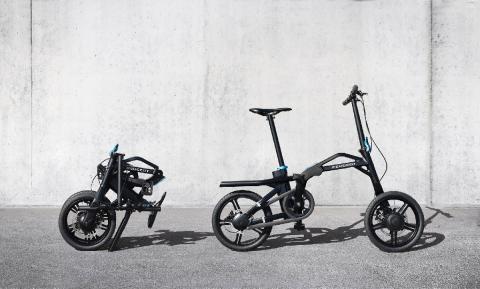 bicicleta plegable peugeot