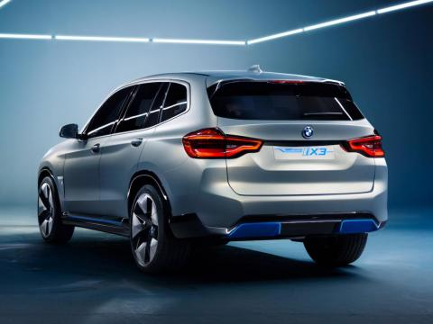 BMW says the iX3 will have over 249 miles of range.