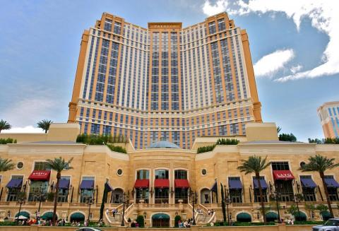 Built in 2007, the $2.05 billion Palazzo Casino is on the Las Vegas Strip.