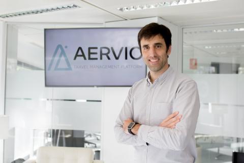 El CEO de Aervio, Santiago Montero.