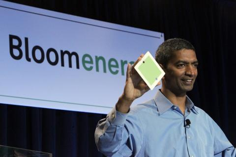 El CEO de Bloom Energy, K. R. Sridhar.