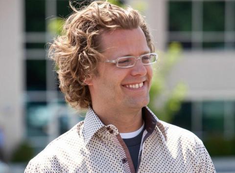 El CEO de Domo, Josh James.