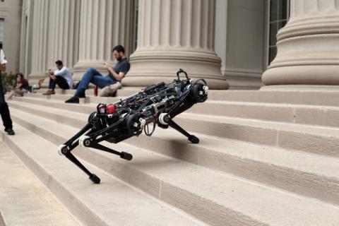 Cheetah 3, el robot del MIT inspirado en los movimientos y reflejos de los gatos