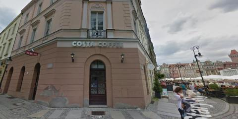 Un Costa en la ciudad polaca de Poznań.