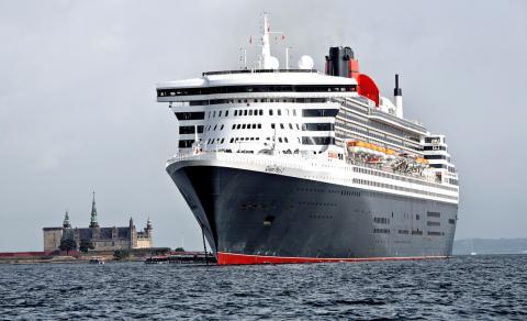 El Queen Mary 2, uno de los más grandes cruceros del mundo