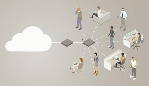 Diagrama de conexion WiFi