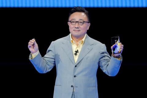 DJ Koh, presidente de Samsung.