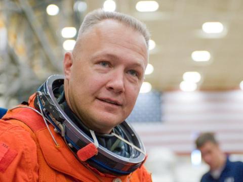 "El astronauta Douglas ""Chunky"" Hurley [RE]"