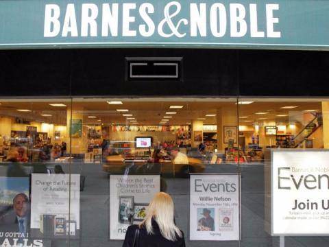 In the early days, Bezos held meetings at Barnes & Noble