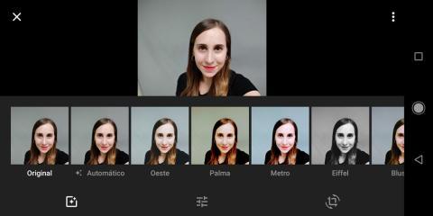 Editor fotos Xiaomi Mi A2