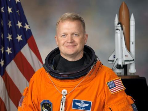 El astronauta Eric Boe