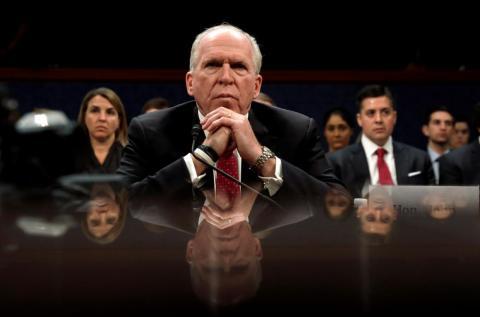 Former CIA director John Brennan.