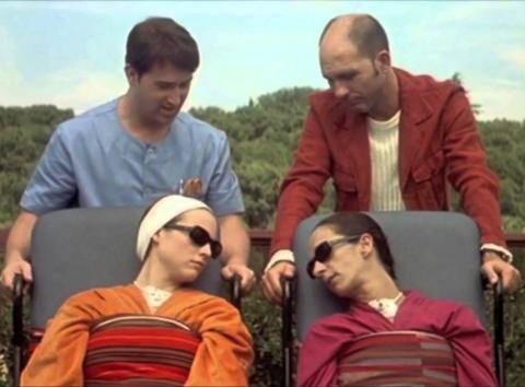 Fotograma de la película Hable con ella.