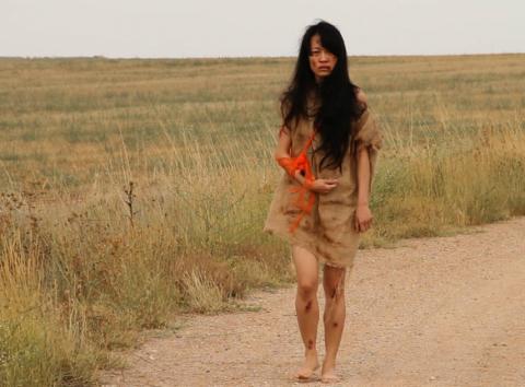 Fotograma de la película Huidas.