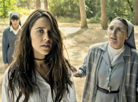 Fotograma de la película La llamada.