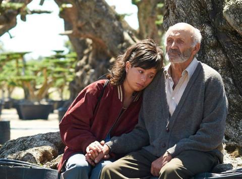 Fotograma de la película El Olivo.