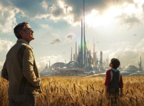 Fotograma de la película Tomorrowland.