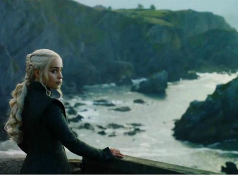 Fotograma de la serie Juego de tronos.