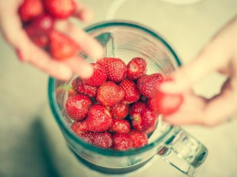 Fresh fruit changes texture when it's expiring.