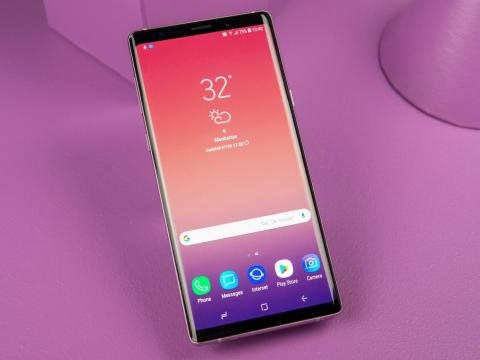 The Galaxy Note 9 has a larger and better screen.