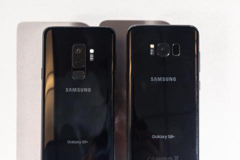 The Galaxy S9 also costs less — it starts at $720, and can cost as much as $960.