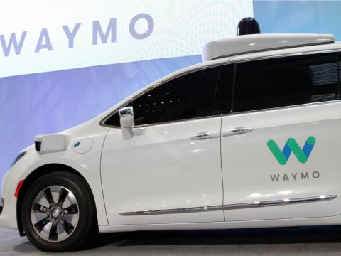 Google Car becomes Waymo.