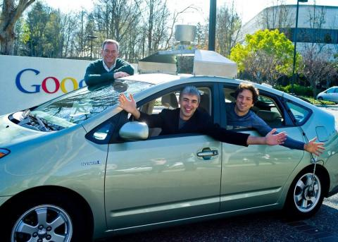The Google Car project starts to put self-driving tech on Toyota Priuses ...