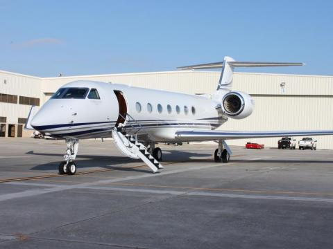He likes to travel in style and owns a Gulfstream G550 private jet, worth about $54 million.