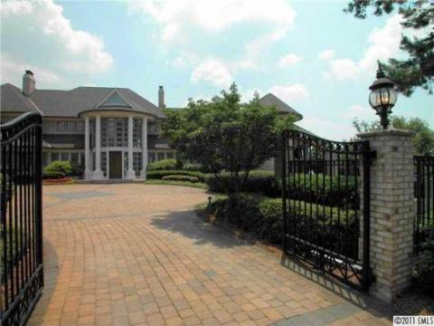 The house is in Cornelius, about a 30-minute drive from the Charlotte Hornets' arena. MJ purchased the house for $2.8 million after it was originally listed for $4 million.