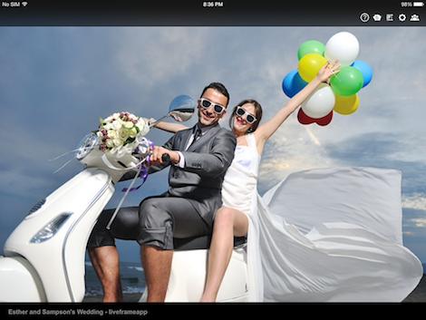 Imagenes en el ipad - Liveframe