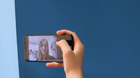 Interfaz Cámara Xiaomi Mi 8
