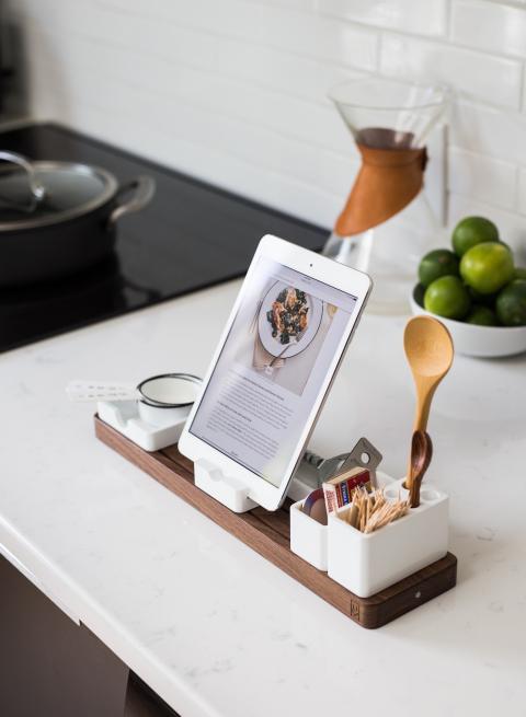 iPad en la cocina
